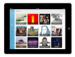 View and select music albums to listen to on an iPad with Quik.io
